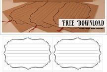 Scarica gratis | Free printable