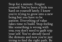 self reminder.