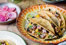 Rosie Birkett's Simple and Stylish Meals for Two / Whether you celebrate Valentine's Day or not, it's always helpful to have a few failsafe recipes up your sleeve that look every bit as sensational as they taste. We asked Rosie to recommend some recipes from A Lot on her Plate to cook when it's just the two of you. From vibrant, zingy tuna tacos to the umami-overload of bottarga butter on bavette steak, serve these up for someone special and you'll be in the good books year-round.