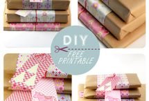 DIY. Wrapping / So many wonderful ideas for wrapping gifts