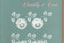 Chantilly et Caen lace