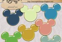 Disney Scrapbooks / by Elizabeth Landgraf
