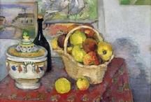 Paul cezanne /  French artist / Post-Impressionist painter / form complex fields /