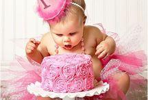 Serena's First Birthday