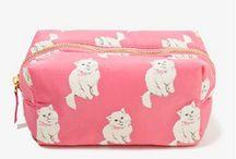 Cat Make Up Bags