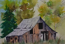 old barns/buildings