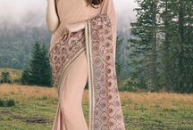2365 Cosmopolitan Knitted Net & Georgette Sarees