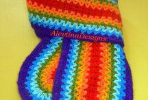 Crochet Scarves, Beanies @ Gloves.