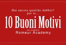 10 Motivi per scegliere Romeur Academy Filmaker on the set / Ami il mondo del cinema e vuoi imparare sul campo tutti i segreti della settima arte? Romeur Academy ho ciò che fa per te con il Master Filmaker on the Set