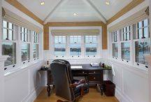 Home Office Inspirations / Work from home? These home offices will have you drooling all over your keyboard.