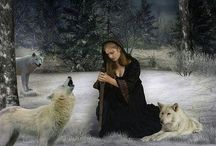 caminhando com lobos
