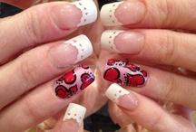 Eye Candy Valentine Nails