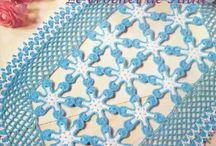 Arte manual. / Croché, trico, mantas, enfeites e artigos de artesanato.