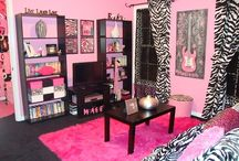 Girls New Bedrooms / by Tory Hamlin