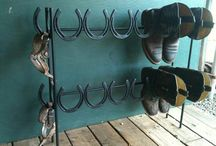 Horse shoes reused