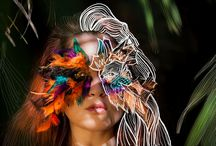 Junglegirls / Jungle, girls piume e makeup