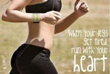 healthier lifestyle: all over fitness/cardio  / by Mallory Keninger