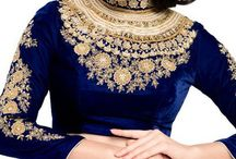 BLOUSE DESIGNS IDEAS / whether you are going for party or for Indian wedding, to have good blouse with your saree can increase your beauty 100 times♥♥♥♥become group board collaborator by just sending your email on mylifenstyle86@gmail.com