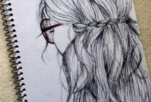 tegne og male