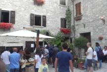 Castel Trosino / Festival dell'Appennino - passeggiata lungo l'anello dei Longoboardi a Castel Trosino