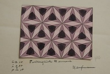 1930's design sketches