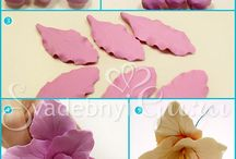 clay flowers