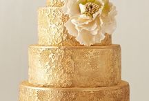 Gold Wedding Inspirations / A board to inspire you if solid gold is the theme for your wedding!