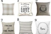 Farmhouse pillows