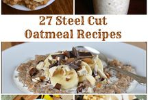 Foods to try Breakfast and Brunch Oatmeal +++++ / Different types of Oatmeal recipes