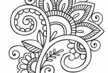 mandalas y bordados