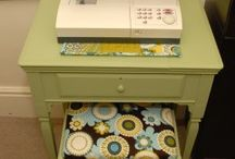 Sewing Table Refinish Ideas
