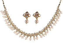 Wedding Kundan Polki Traditional Jewelry Set