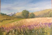 Art oil painting / Hettinger Agnes
