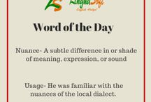 Word of the day / Learn a new word everyday and improve your English language skills.