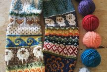 Knitting: Mini Skein Ideas / by Julie @ Knitted Bliss