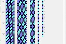 Háčkování-vzory do 10ti korálků