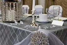 Silber Grey Wedding Decoration