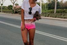 Shorts, skirts, legs