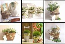 Eco Ideas / Algunas ideas para agasajar a tus invitados