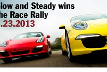Slow and Steady Wins the Rally! / Our first #Porsche Rally of 2013 / by Lyon-Waugh Auto Group