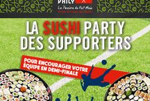 Inspiration #SushiPartyDesSupporters par Sushi Daily