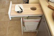 Under kitchen sinks