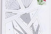 Paper pieced patterns