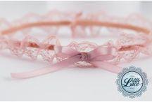 Garters / Large range of beautiful hand made garters.