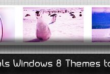 Windows 8 Themes / by Ahmad Awais