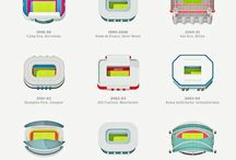 Sport architecture / Stadiums and the like