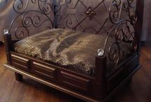 wrought iron dogbed