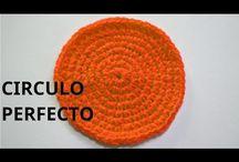 circulo perfecto a crochet