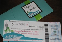 Stylish Scribe Invitations / Wedding invitations
