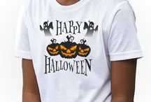 Halloween Kids Girls T-shirts